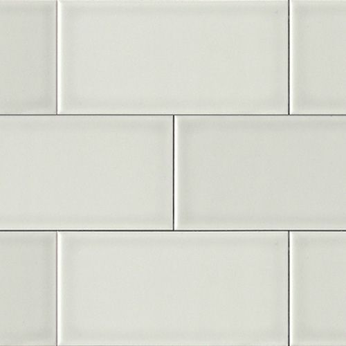 Inexpensive White Subway Tile From Home Depot With A Very