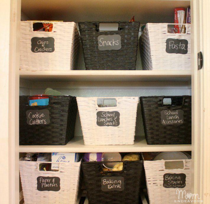 Despensa arrumada - aprenda a organizar