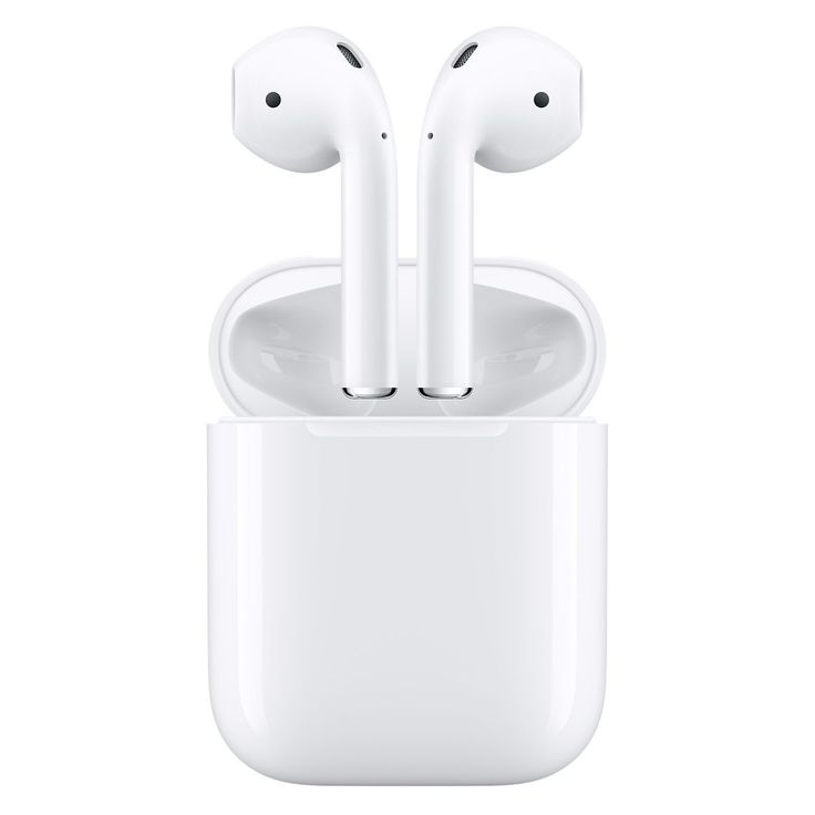 AirPods let you adjust volume and playback of music and video and answer calls, wirelessly. Learn more on apple.com