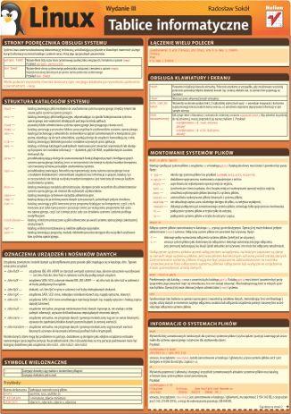 Tablice informatyczne. Linux. Wydanie III  #helion #Linux #ksiazka #IT #informatyka