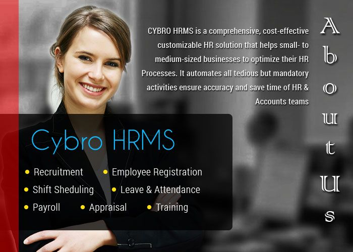 CYBRO HRMS: She is the imagination of your company ;)