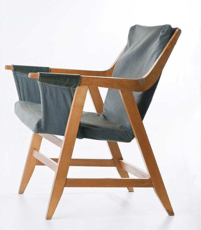 Fotel Maria Chomentowska 1957, IWP Zakład Meblarski