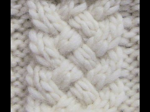 Knit with eliZZZa * Mesh pattern with Slip Stitches * Knitting Stitch - YouTube