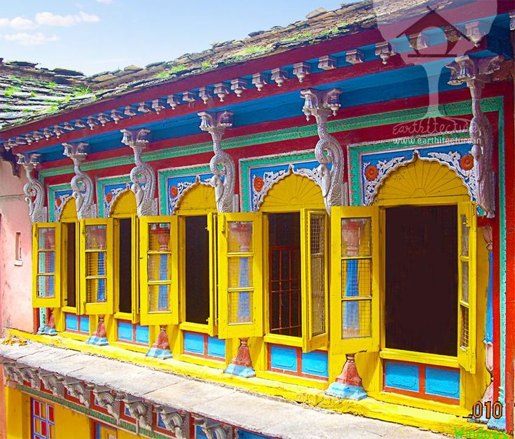 Indian Windows Design Traditional