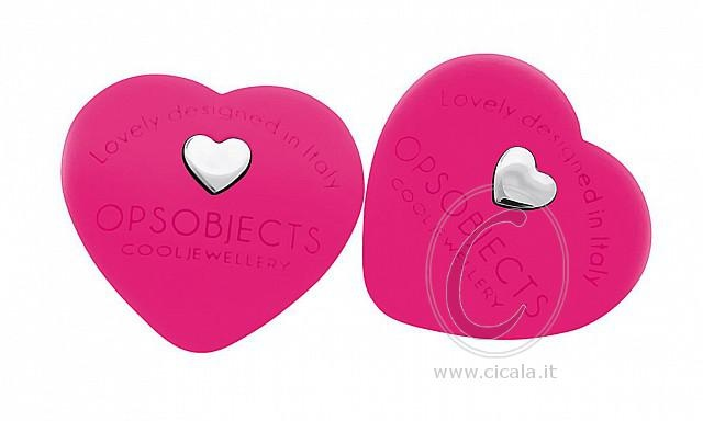 ❤ OPS! Earrings ❤ @ only €28,00 Register NOW on www.cicala.it for discount! Fuchsia color!