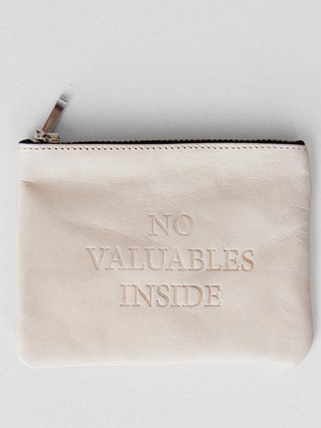 no valuables inside.