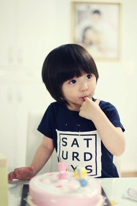 Half korean half french Leo jtaime my future indieKorean Toddler