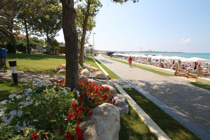 Strandpromenade in Side