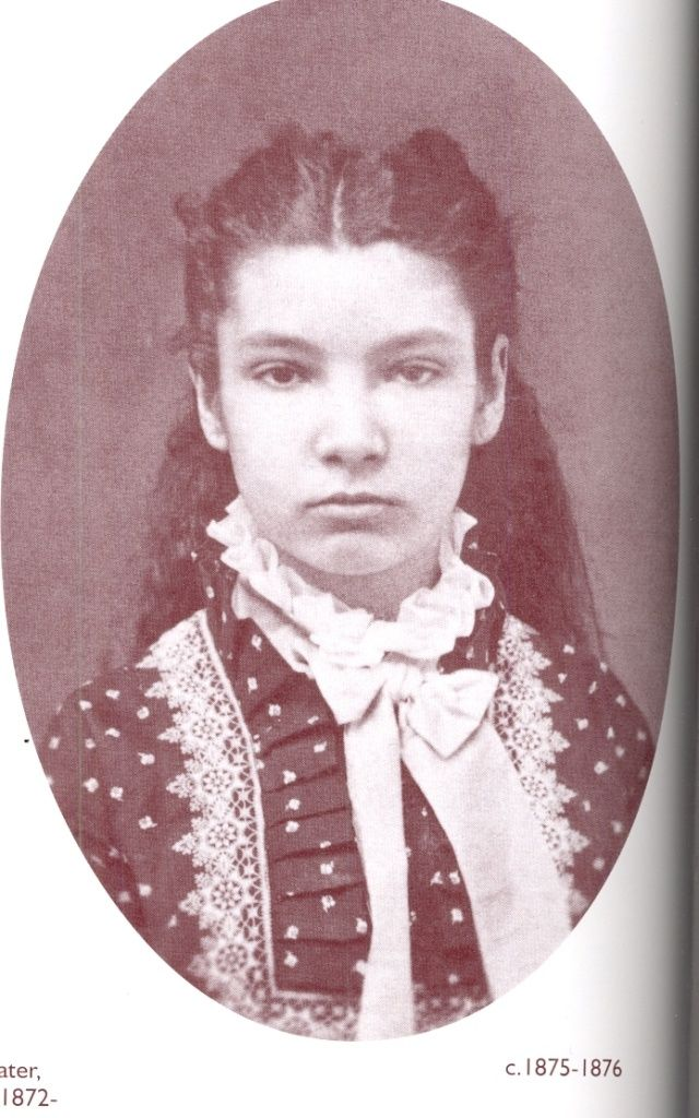 mid-1870's young girl hairstyle