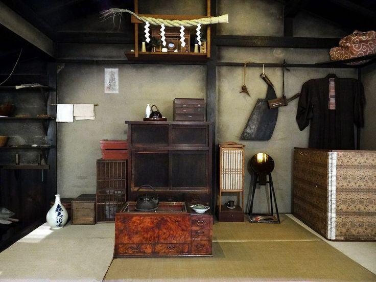 Inside an Edo Period Sawyers Home Taken at the Fukagawa