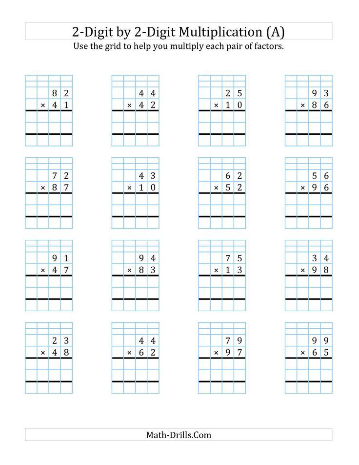 The 25+ best Multiplication worksheets ideas on Pinterest ...