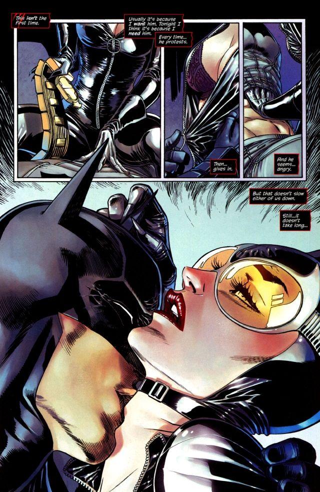 Batman and Catwoman sex 1