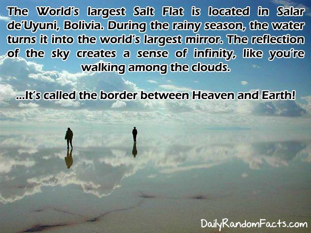 Would be amazing: Buckets Lists, The Salar De Uyuni, World Largest, Salts Flats, Before I Die, Magic Places, Cloud, Bolivia, Random Facts