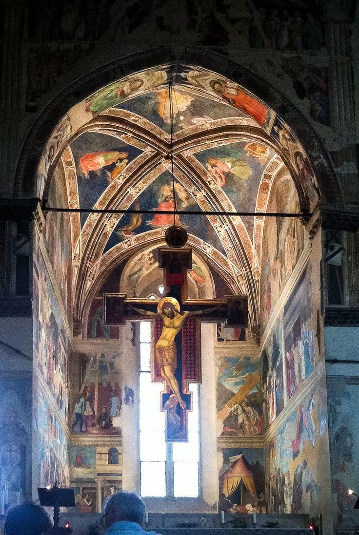Basilica Of San Francesco In Arezzo | http://www.italygalore.com/basilica-of-san-francesco-in-arezzo/