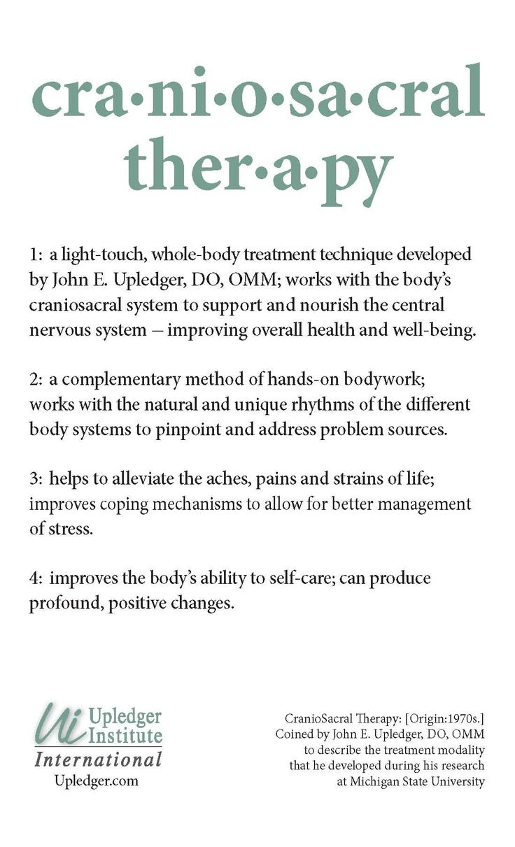 Discover CranioSacral Therapy  I am registered for the Level 1 course in June, 2017. I learned about this modality in classes at Clary Sage. #whyclary