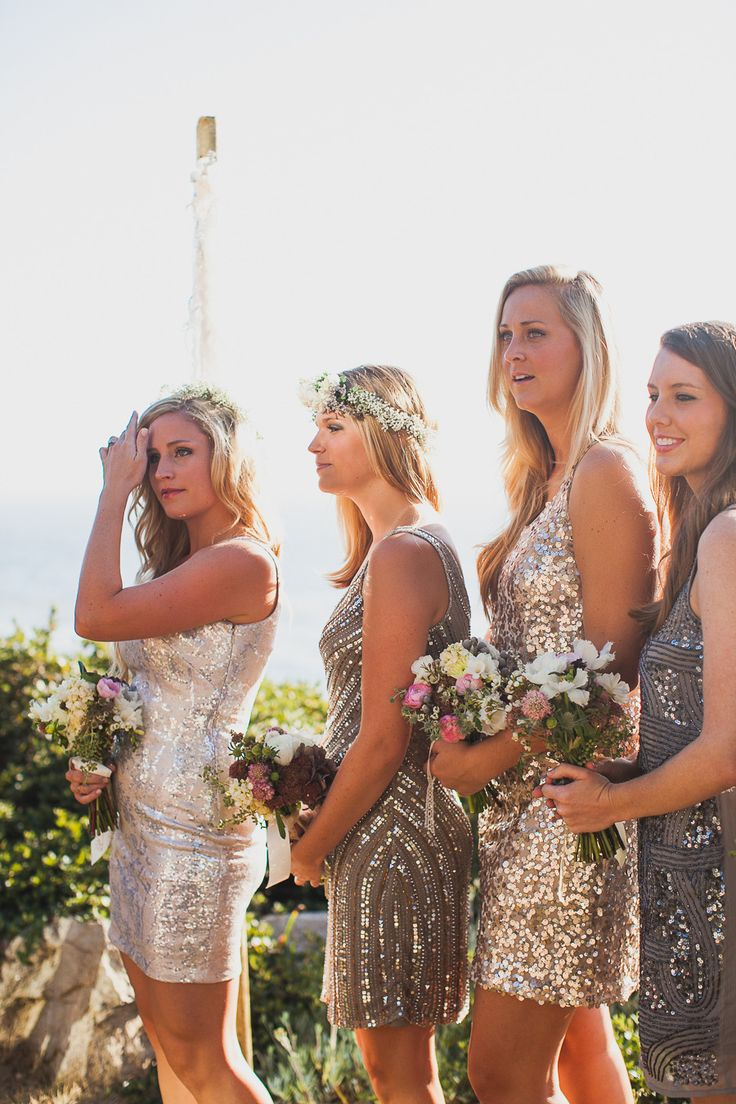 #sequins  Photography: Mr. Haack  Read More: http://www.stylemepretty.com/2014/05/19/bohemian-glamour-in-northern-california/