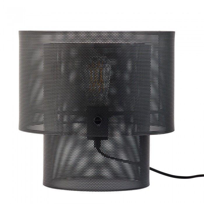 Lampe De Table Cyla Noire Bolia Lampes De Table Table Noire Lampe