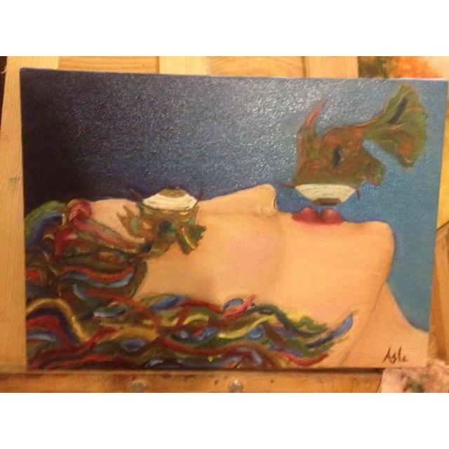 Oil on canvas 35x25
