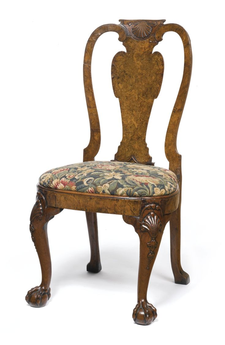 Antique chairs styles pictures - A George Ii Burr And Figured Walnut Side Chair In The Manner Of Giles Grendey Circa 1730 S Furnitureenglish Furniturefurniture Stylesantique