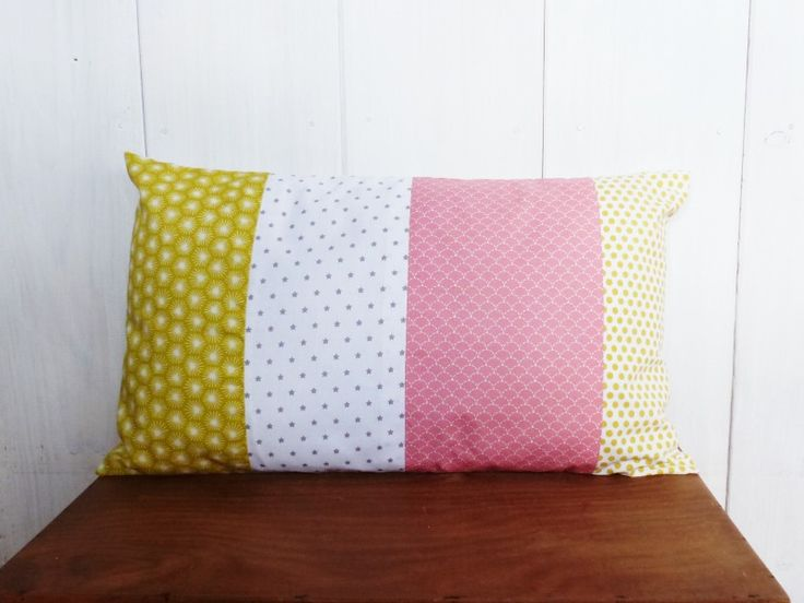 74 best linge de maison images on pinterest linens slipcovers and throw pillow covers - Coussin jaune ikea ...