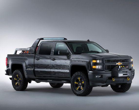 """2014 CHEVY SILVERADO CREW CAB 4×4 """"BLACK OPS"""" CONCEPT"""
