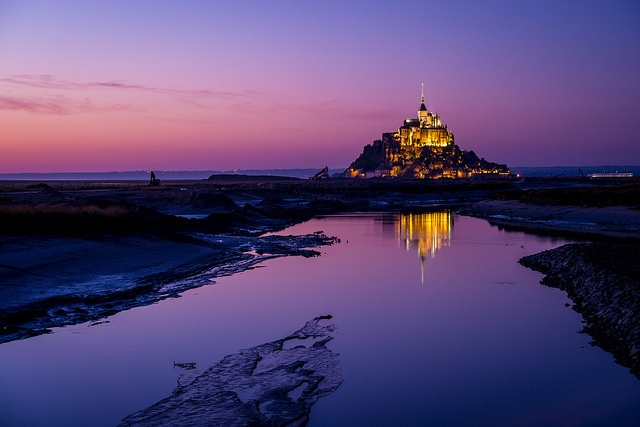 Purple Sunset | Flickr - Photo Sharing! Looks like an interesting place