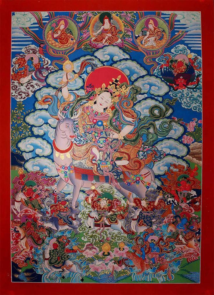 Dorje Tshajema, 12 Tenma Guardian Deities (Goddesses)