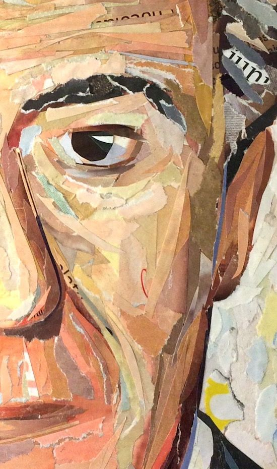 WORK IN PROGRESS... commissioned portraits (detail) ©philippe patricio