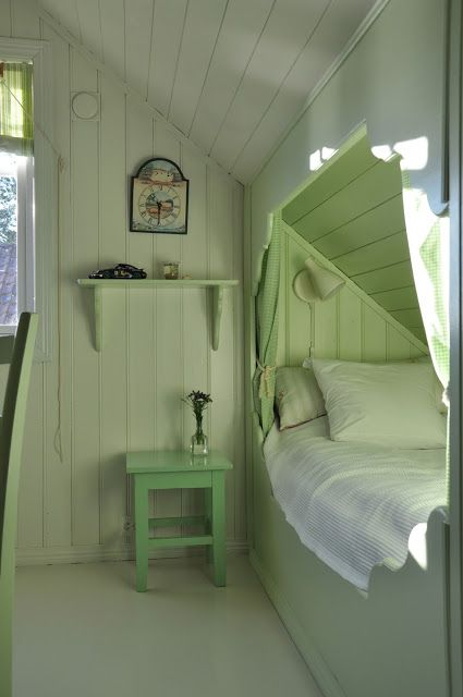 Bed alcove Croft in Hidle Strait
