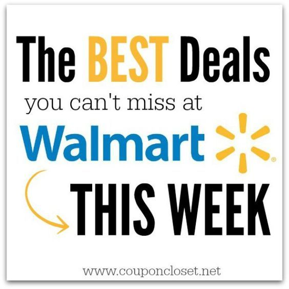 E- We have some awesome deals from Walmart you don't want to miss this week! Check out all of these top deals and get your coupons ready. Here are the top 10deals: BIC Silky Touch Razors 10-count $2.97 Use the$3/1 BIC Disposable Razor Pack (excludes trial size) coupon found here Final Price: …