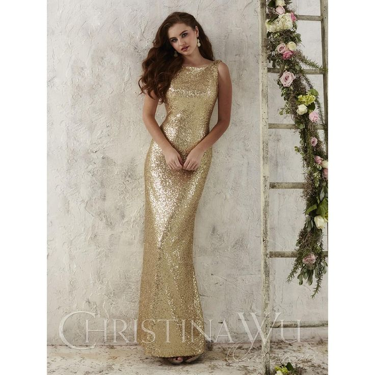 Christina Wu Occasions - All Sequin Dress - Perfect for a Bridesmaids Party or New Year dress - 20% off until the End of November - Available at Party Dress Express - 657 Quarry Street - Fall River - MA 02723 http://www.partydressexpress.com/detail.php?ProdId=10718813&CatId=75563&resPos=0#subtitle