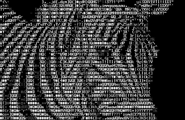 art in wisconsin | Notez que celui-ci est de l' ANSI ART , un dérivé de l'ASCII ART ...