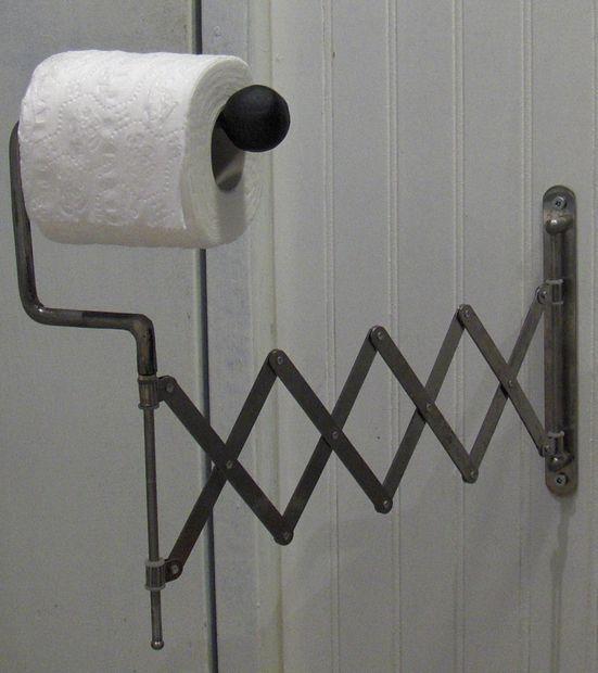 Go-Go Gadget Ikea Toilet Paper holder MOD with a SUGRU twist