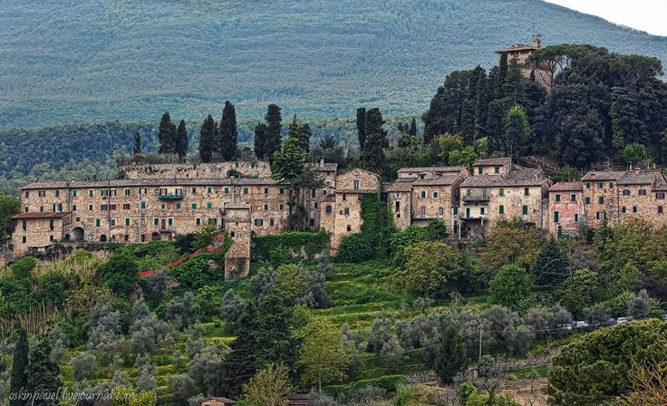 Cetona, Toscana, Italia <3