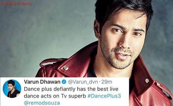 Varun Dhawan's tweet supporting Dance Plus lands him in trouble, see photo