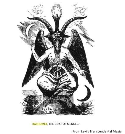 "Beyonce is ""Sasha Fierce"" an codename for her Occult Rebirth into Baphomet ('El Diablo' or Satan)."""