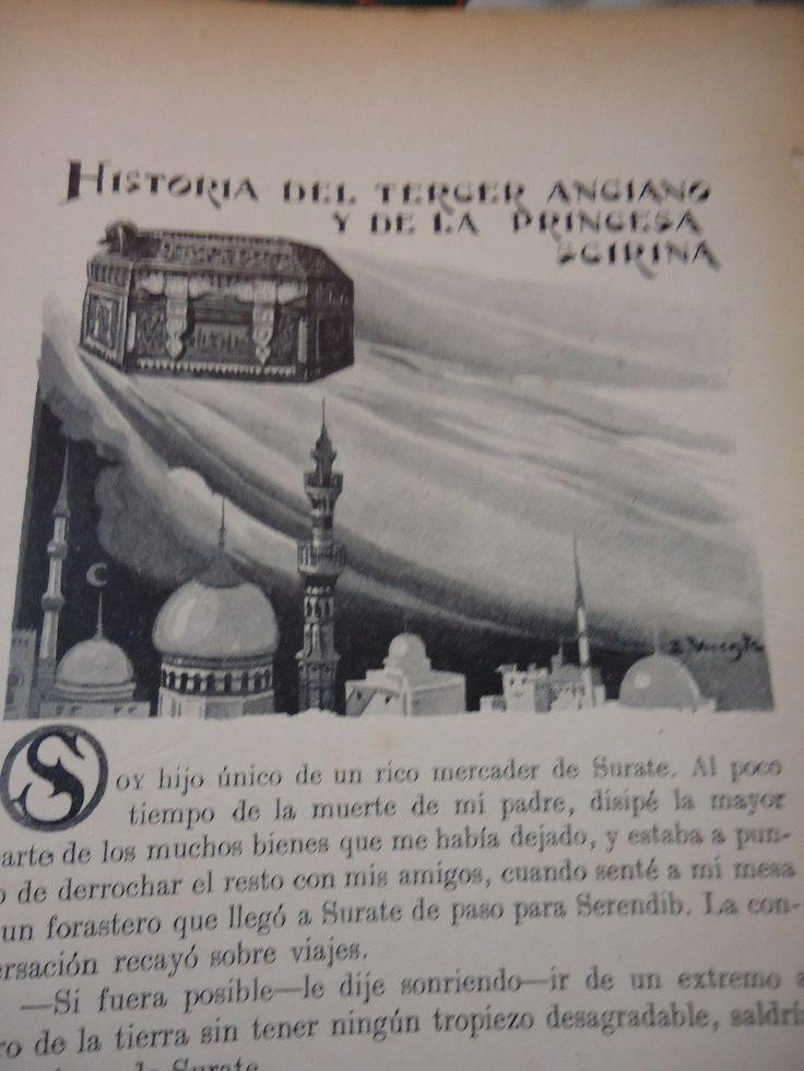 Las Mil Y Una Noches -por A. Galland -barcelona 1934 -