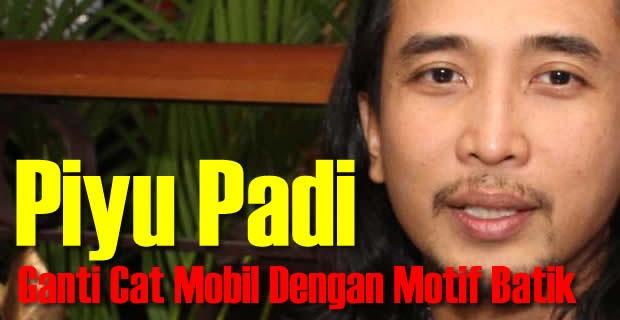 Peduli Batik, Piyu Padi Ganti Cat Mobil Dengan Motif Batik