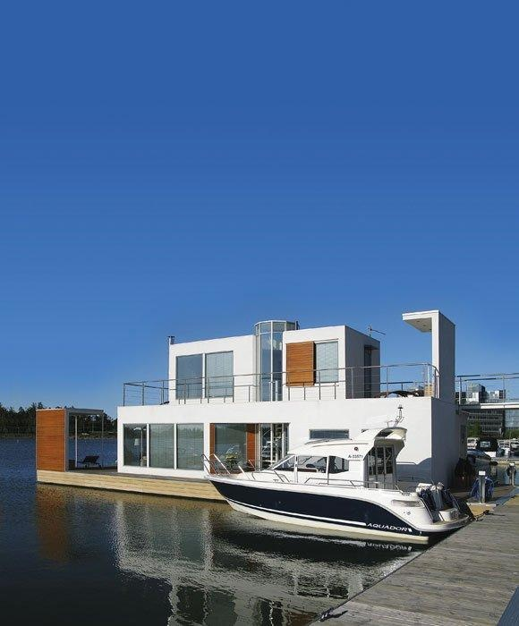 Floating House Amazing Pictures