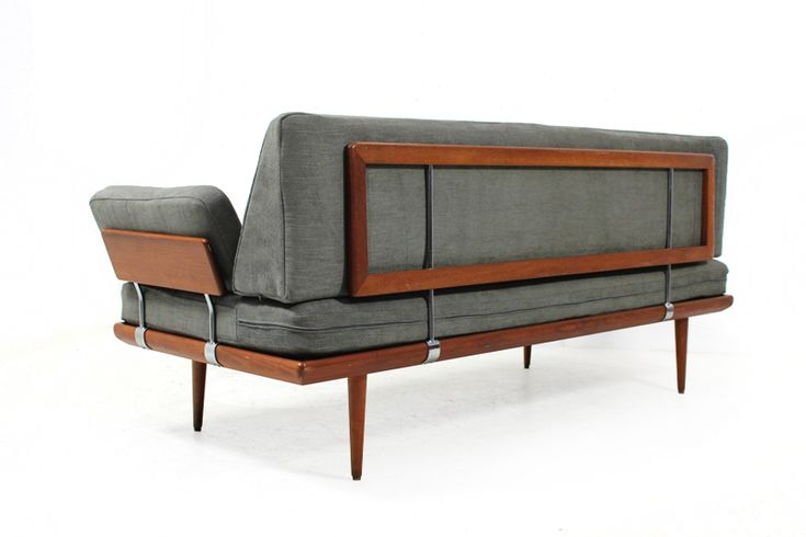 50S And 60S Furniture | 60er Teak Sofa l Daybed l Peter Hvidt & Orla Molgaard Nielsen für ...