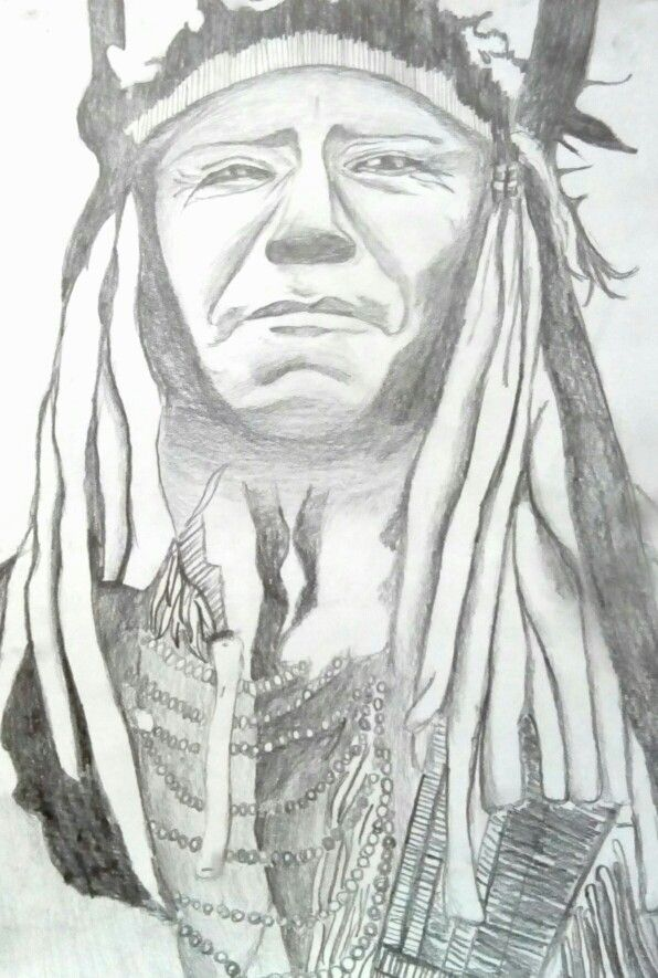 Indian people. By meee!# pencil