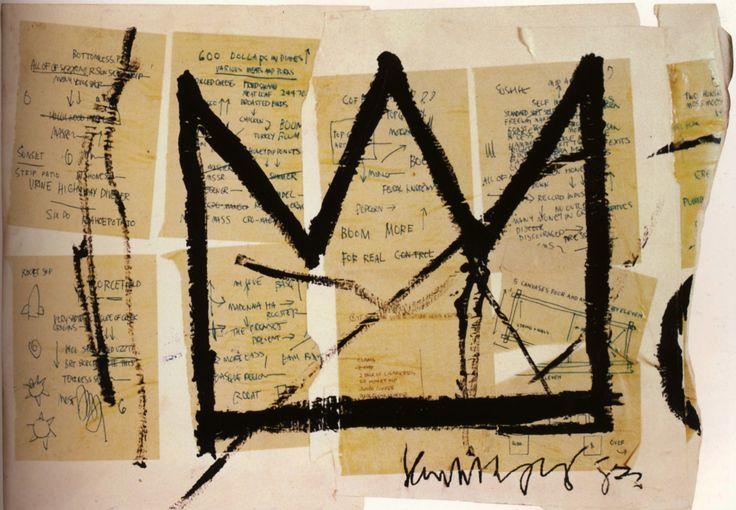 Jean-Michel Basquiat - Sans Titre -