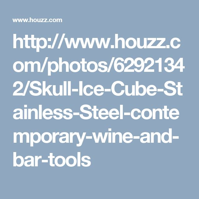 http://www.houzz.com/photos/62921342/Skull-Ice-Cube-Stainless-Steel-contemporary-wine-and-bar-tools