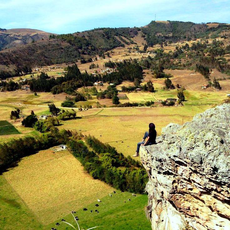 Colombia - Rocas de Suesca, Cundinamarca.