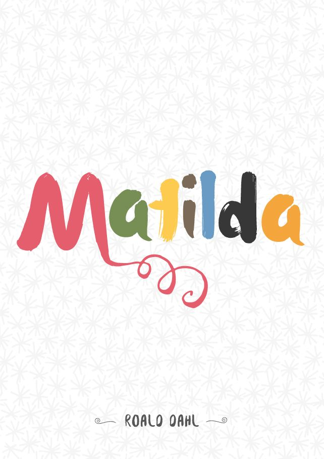 """Give me feedback on """"Matilda - Book Cover Design"""", a work-in-progress on @Behance :: http://be.net/wip/1272381/2221873"""