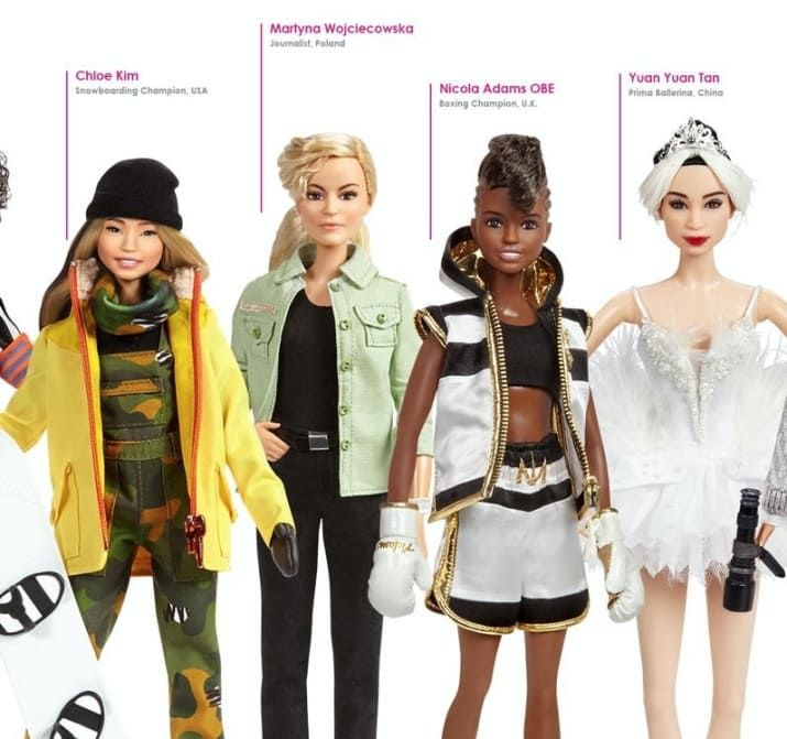 These Incredible Women Who Made History Are Being Made Into Barbie Dolls. Martyna Wojciechowska ! WOW