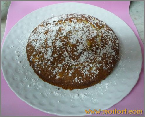 Торт с ананасами и лимончелло