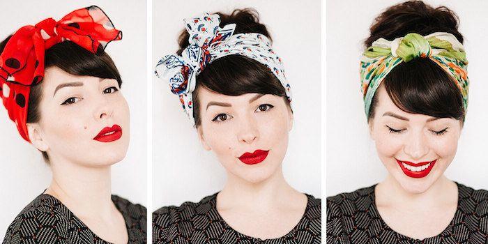 Kopftuch Binden 39 Kreative Ideen Und Anleitung Zum Selbermachen Diy Zenideen Kopftuch Binden Kopftuch Haar Styling