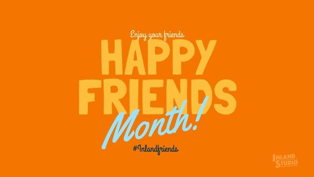 Now that the day of the friend became the month of friend, we set ourselves the…