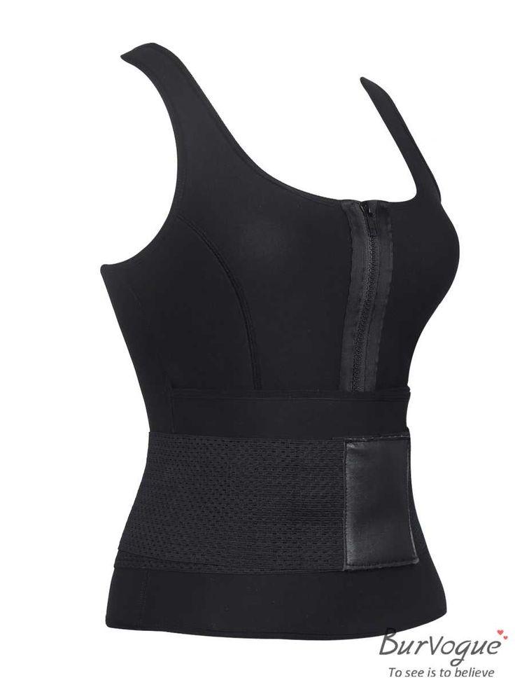 Neoprene Sports Waist Trainer Vest Thermo Body Shaper Belts
